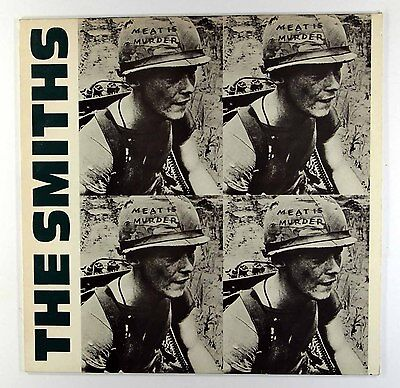 The Smiths - Meat Is Murder (UK Vinyl LP A2/B2 pressing) EX Vinyl