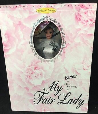 MY FAIR LADY BARBIE as Eliza Doolittle,Hollywood Legends Collection NRFB MINT