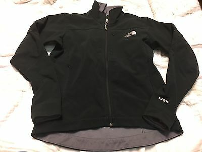 The North Face Apex Full-Zip Soft Shell Jacket Women's Black Size M
