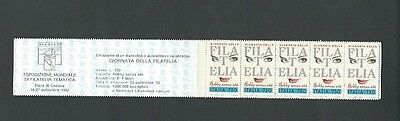 Italy 1992 S/A Stamp Day Booklet sg 2176 x 5