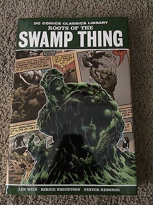Roots Of Swamp Thing DC Comics Hardcover Bernie Wrightson Collection Horror