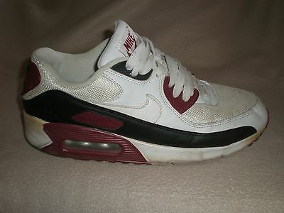 Nike Air Max 90 Trainers Size 8 Uk 42.5 Euro Black White             6