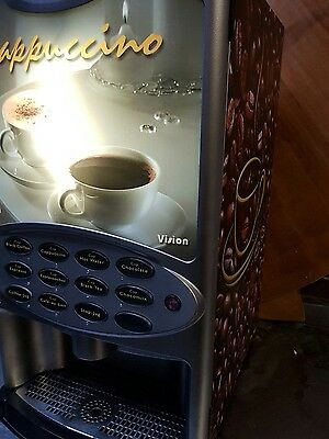commercial coffee machine vision 400