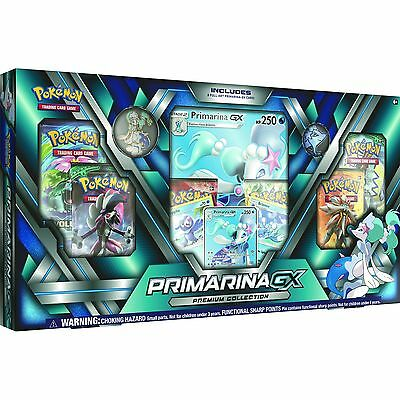Pokemon TCG Primarina GX Premium Collection - Brand New!