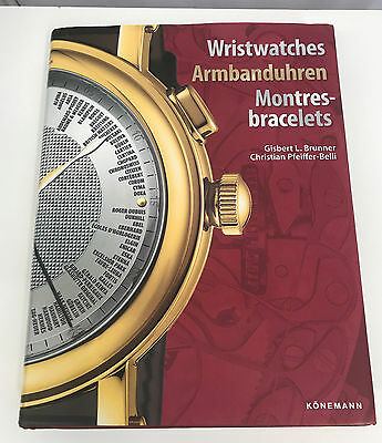 Wristwatches Armbanduhren Montres Bracelets Book Hardcover 511 Pages