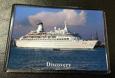 CMV DISCOVERY Photo Fridge Magnet Cruise Ship Ocean Liner Princess Cruises