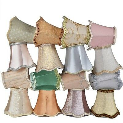 Small Lace Lampshade Cotton Textured Fabric Drum Shade Table Ceiling Light Cover