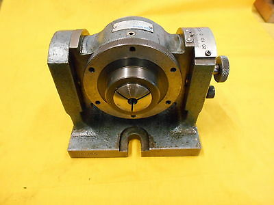 "YUASA 5C INDEXER 24T tilting spacer WITH 3/8"" HARDINGE COLLET MODEL 550-009"