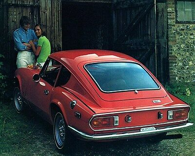1973 Triumph GT6 Factory Photo ca6952