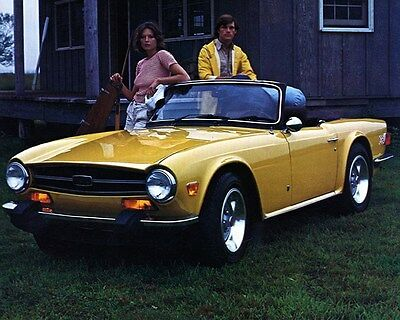 1974 Triumph TR6 Factory Photo ca6969
