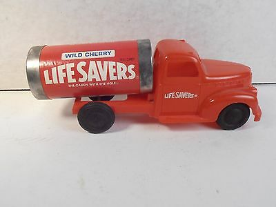 Vintage Marx Life Savers Candy Toy Truck Cab & Life Savers Roll Can Puzzle