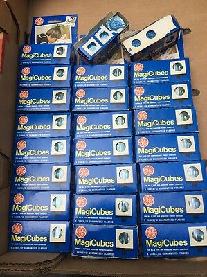 72 X GE GENERAL ELECTRIC MAGICUBES MAGIC CUBES POLAROID TYPE X  New Old Stock