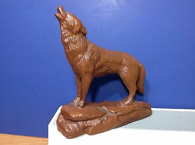 "Red Mill Howling Wolf 1995 #421 6 1/2"" Long Beautiful"