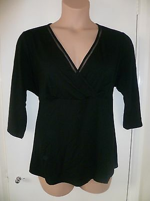 BLACK TOP * FROM  M&Co *  Size 22-24 * NEW WITH TAGS