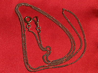 OLD GERMAN ANTIQUE POCKET WATCH CHAIN  nice and long