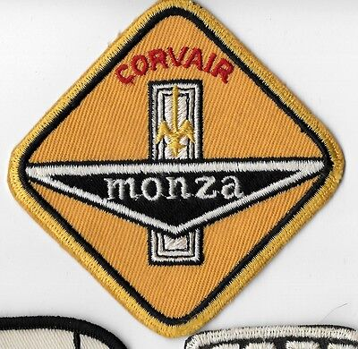 Original Vintage Corvair Monza  Car Cloth Patch - Twill Back