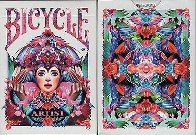 Artist Bicycle Playing Cards Poker Size Deck USPCC Custom Limited Edition Sealed