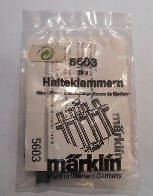 Marklin 1 Gauge 5603 Track Clips In Sealed Package