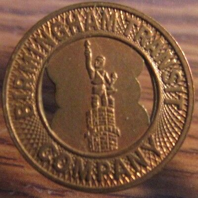 Very Old Birmingham, AL Transit Company Trolley Token - Alabama Ala. #1