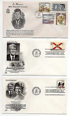 Presidents (11) First Day Covers/ Nice Selection  -  Lot 0716012