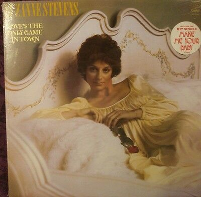 Suzanne Stevens **sealed** Lp - Love's The Only Game In Town / With Hype Sticker
