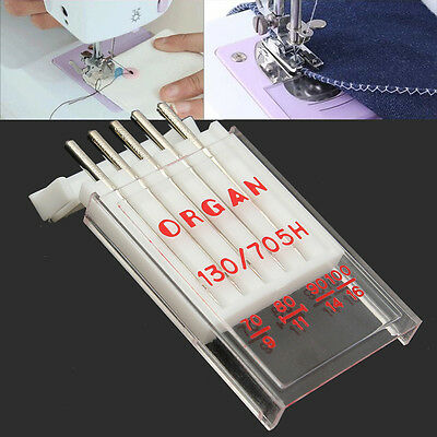 5Pcs/Pack Sewing Organ Needles 130/705H For Universal Domestic Sewing Machine
