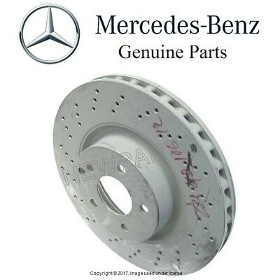 Mercedes Benz W216 W221 CL550 S550 2 Front Brake Discs Meyle 40433181 For