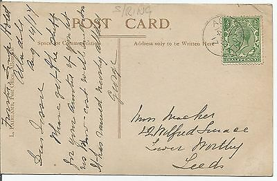 ALLENDALE SINGLE RING 1917  CANCEL ON KING GEORGE VI ½d GREEN 483