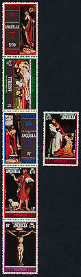 Anguilla 211, 216b MNH Easter, Art, Paintings