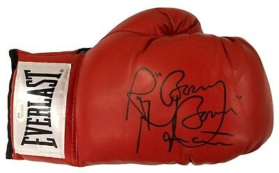 Ray Boom Boom Mancini Signed Red Everlast Right Hand Boxing Glove JSA ITP