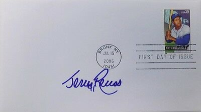 Jerry Reuss Los Angeles Dodgers Signed First Day Cover