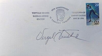 Virgil Trucks Pittsburgh Pirates Signed First Day Cover