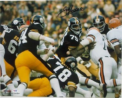 Mean Joe Greene Signed/Autographed Pittsburgh Steelers 16x20 Photo PSA/DNA