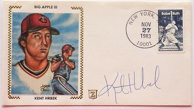 Kent Hrbek Minnesota Twins Signed First Day Cover