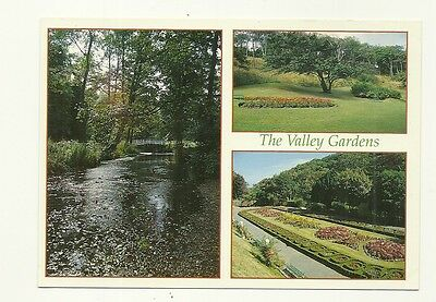 Saltburn-by-the-Sea - a larger size, photographic multiview postcard of Gardens