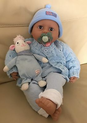 Baby Annabell Brother 2009 Version 5 With Lullaby Lamb-Crys Real Tears