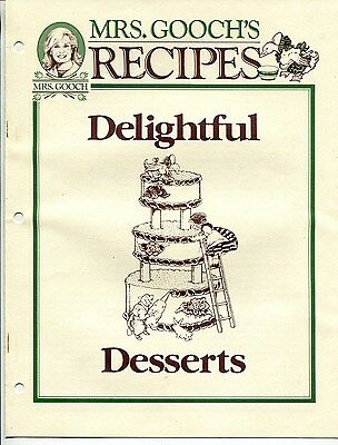 "1993 ""MRS GOOCH'S"" Grocery Store ""Delightful Desserts"" Recipe Giveaway [So. CA]"