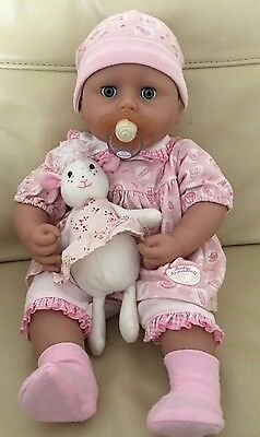 Zapf Creation Baby Annabell 2009 Version 5 With Lullaby Lamb-Crys Real Tears