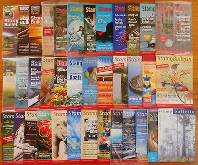 Australian Stamp Bulletin - 37 Publications from 2005 to 2015