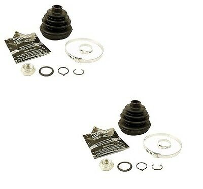 Audi 4000 Coupe Fox VW Fox Jetta Set of 2 Front Outer CV Joint Boot Kits GKN