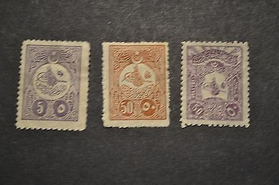 belle selection timbres anciens TURQUIE 1908 NEUF *