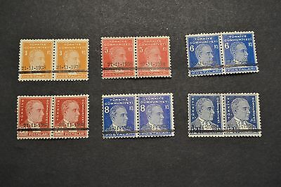 belle selection timbres anciens TURQUIE surcharge 21/11/1938 neuf ** en PAIRE