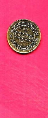 Bahrain Km30 2014 Unc-Uncirculated Mint-Bu New 5 Fils Coin