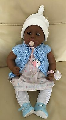 """Baby Annabell Interactive Ethnic Doll 2005 Version 3 Size 18"""" & Accessories"""