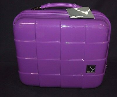 Antler Vanity Cosmetics / Make-up Travel Case Hard Shell Toiletries QS67/B2