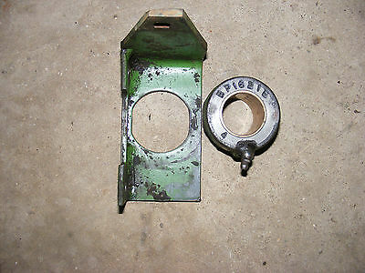 ~~~ John Deere 14T Baler Knotter  PTO Support Bracket and bushing