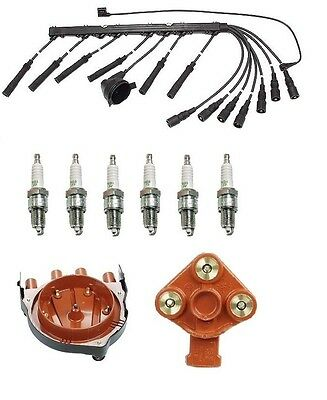 For BMW E9 3.0CS 3.0 73-74 Ignition Kit Cap Rotor Spark Plugs Wire Set