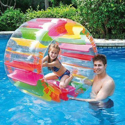 Kids Inflatable Water Wheel Pool Float Swim Ring Toy Lilo Fun Swimming Party