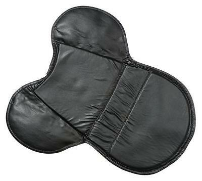 New Black English GEL Seat Cushion Trail Riding Saddle Pad Relieves Back Pain!