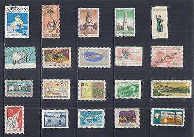 y1812 Vietnam / A Small Collection  Early & Modern Used
